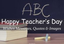 Happy Teacher's Day Wishes